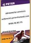 DJ Peter Aelbrecht