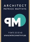 Architect Patrick Matthys