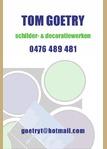 Schilderwerken Tom Goetry